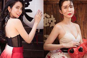 Hoa hậu 'vòng ba 1m' Huỳnh Vy gợi cảm đốn gục cánh mày râu