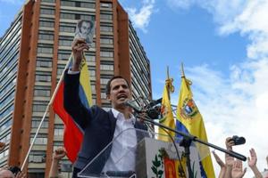 Venezuela: Thủ lĩnh phe đối lập tự nhậm chức Tổng thống lâm thời, Mỹ lên tiếng công nhận