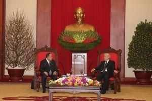 Việt Nam coi trọng mở rộng quan hệ hợp tác nhiều mặt với Thái Lan