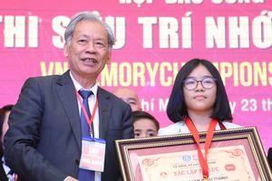 Học sinh 12 tuổi lập kỷ lục 'Siêu trí nhớ Việt Nam'