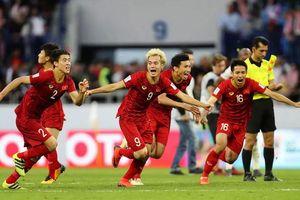 Tuyển Việt Nam, Thái Lan đồng loạt tăng bậc nhờ Asian Cup 2019?