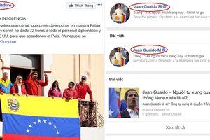 Facebook Tổng thống Venezuela Maduro bất ngờ mất 'dấu xác thực màu xanh'