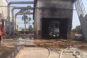 Cháy công ty ở Bình Dương, 1 người chết