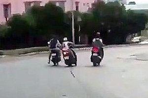 Đã làm rõ nhóm đối tượng dùng bình xịt hơi cay tấn công cướp xe máy của 1 phụ nữ