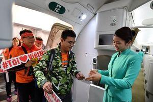 Vietnam Airlines tiếp tục mở chuyến 'tiếp lửa' cho đội tuyển Việt Nam