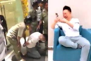 Clip bị bắt vì trộm xế hộp ở TP.HCM, đạo tặc Hàn Quốc khóc như đứa trẻ