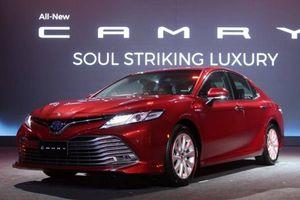 Xem trước Toyota Camry 2019 sắp về Việt Nam