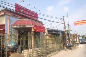 Đã bắt được nghi phạm mang theo dao và bình xịt hơi cay cướp 200 triệu đồng tại ngân hàng Agribank Thái Bình