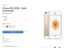 Bán sạch iPhone SE 'giá sốc' chỉ sau 1 ngày, Apple tiếp tục xả kho lần 2