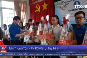 Bí thư Trung ương Đoàn thăm gia đình chính sách, đoàn viên thanh niên ở Tây Ninh