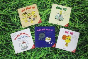 Gia đình tớ: Bộ sách ehon Nhật Bản giúp gắn kết gia đình