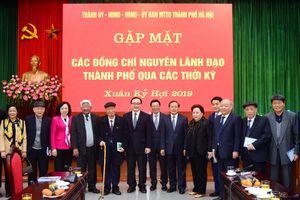 Hà Nội mong muốn nhận được nhiều ý kiến đóng góp của các đồng chí nguyên lãnh đạo Thành phố