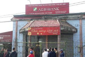 Thông tin mới nhất về vụ cướp phòng giao dịch ngân hàng Agribank ở Thái Bình