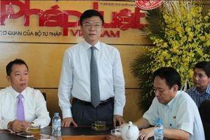 Báo Pháp luật Việt Nam 34 năm phát triển
