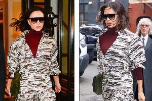 Victoria Beckham mặc ngày càng sành điệu, trẻ trung ở tuổi 44
