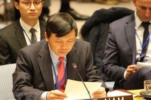 Việt Nam kêu gọi Hội đồng Bảo an thúc đẩy tuân thủ các nghị quyết về Trung Đông