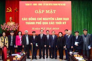 Nguyên lãnh đạo thành phố đánh giá cao kết quả công tác của tập thể lãnh đạo TP Hà Nội