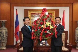 Lào chúc Tết Kỷ Hợi 2019 Đại sứ quán Việt Nam