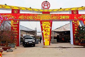 Hà Nội: Tưng bừng sắc xuân tại hội chợ hoa quận Nam Từ Liêm