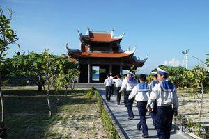 Cùng khám phá những ngôi chùa ở huyện đảo Trường Sa