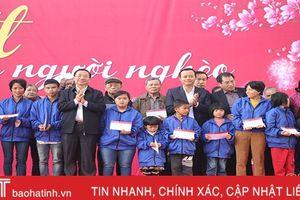 Agribank chi nhánh Hà Tĩnh II tổ chức 'Xuân yêu thương, Tết tình nghĩa'