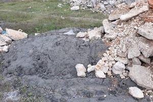 Nghệ An: Nhà máy xi măng Hoàng Mai quản lý đất lỏng lẻo, để đổ thải tràn lan