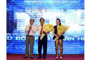 26/1: Khánh thành nhà máy xử lý nước thải Sóng Thần 2