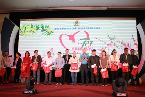 CĐ Viên chức Đà Nẵng trao 340 suất quà trong 'Tết sum vầy' 2019