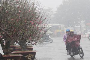 Miền Bắc, miền Trung trời rét, miền Nam còn mưa trái mùa