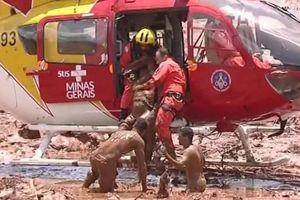 Vỡ đập ở Brazil, 7 người chết, 150 người mất tích