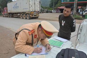 Chưa đầy 1 tháng, CSGT xứ Lạng phát hiện 1.700 xe vi phạm giao thông