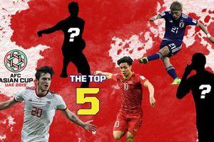 Công Phượng lọt vào top 5 cầu thủ hay nhất tứ kết Asian Cup