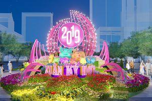 Hé lộ phối cảnh Đường hoa Tết, Hội hoa Xuân 2019 tại TP Hồ Chí Minh