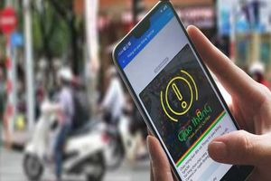 Người dân có thể phản ánh tình hình giao thông dịp Tết qua ứng dụng Zalo