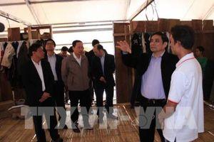 Trưởng Ban Tổ chức Trung ương kiểm tra tình hình khắc phục lũ lụt tại Mường Lát