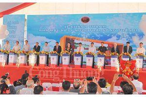 Khánh thành nhà máy xử lý nước thải đầu tiên ở Việt Nam