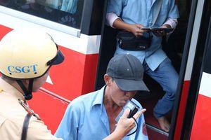 Chặn kịp 1 tài xế xe khách 'liều mạng' ở Bến Xe Miền Đông