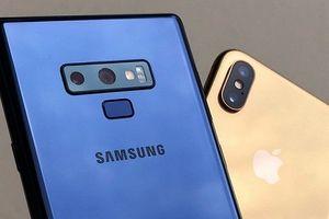 Apple, Samsung sẽ chứng kiến một năm doanh số sụt giảm
