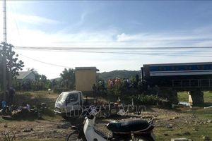 Ga Sài Gòn thay đổi giờ chạy tàu sau sự cố tàu trật bánh tại Bình Thuận