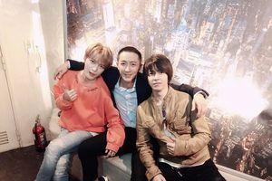 Jae Joong (JYJ) ăn sinh nhật ấm cúng bên Hàn Canh, Yamashita Tomohisa và Shirota Yuu