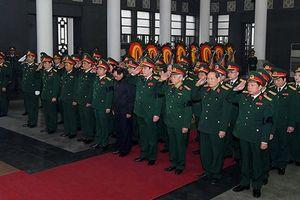 Tổ chức trọng thể Lễ viếng và truy điệu Trung tướng Lê Hai