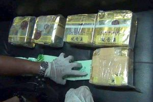 Ngăn chặn vụ vận chuyển 10 bánh ma túy
