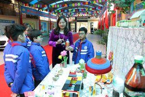 Học sinh trường Ngô Quyền sáng tạo nhiều sản phẩm nhờ STEM