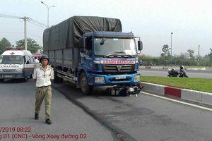 Đi làm ngày giáp Tết, nam công nhân tử vong dưới bánh xe tải