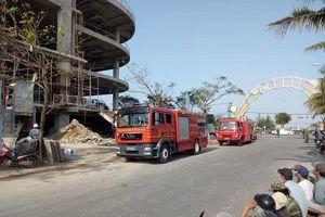 Đà Nẵng: Cháy tòa nhà DITP Công ty Trung Nam 18 tầng đang thi công