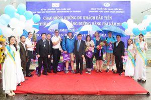 Đón những du khách quốc tế đầu tiên đến Huế bằng đường hàng hải năm 2019