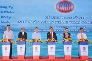 Lần đầu tiên Việt Nam có nhà máy xử lý nước thải bằng vi sinh