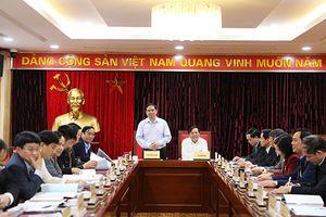 Lãnh đạo Ban Tổ chức Trung ương làm việc với Ban Thường vụ Tỉnh ủy Cao Bằng
