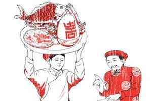 Ông cha làm món cá chép hóa rồng, trứng voi ngày Tết như thế nào?