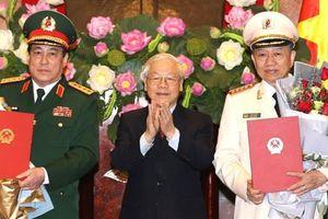 Chủ tịch nước thăng quân hàm Đại tướng cho ông Lương Cường